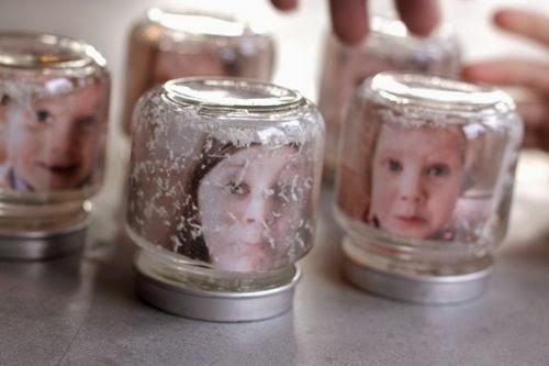 Baby Food Jar Snow Globes Noah's Mira...