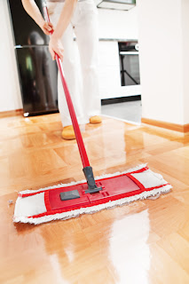 Redesigned floor mop