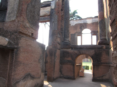 Lucknow hunting lodge ruins