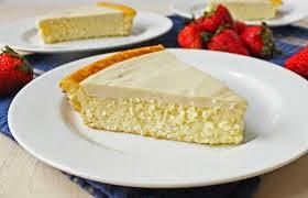 Pastel de queso para bajar de peso