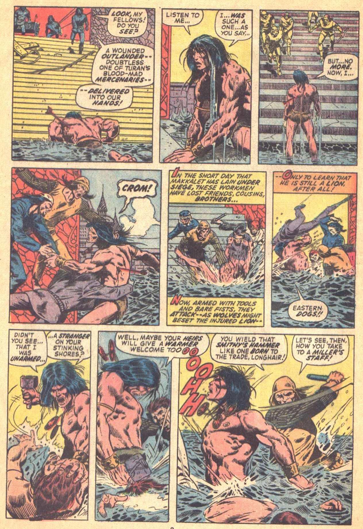 Conan the Barbarian (1970) Issue #21 #33 - English 3