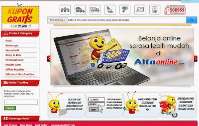 Toko belanja murah Rp 1,- Heboh Alfaonline.com