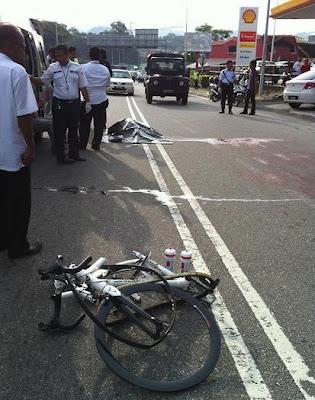 Video Saat Kemalangan Pelumba Basikal