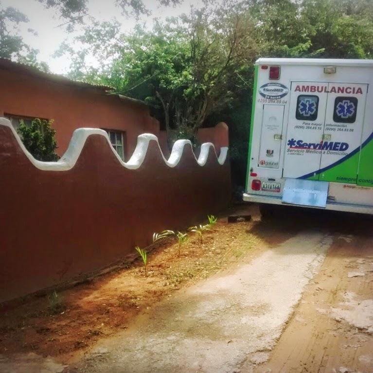 Ambulancia en Paraguachí