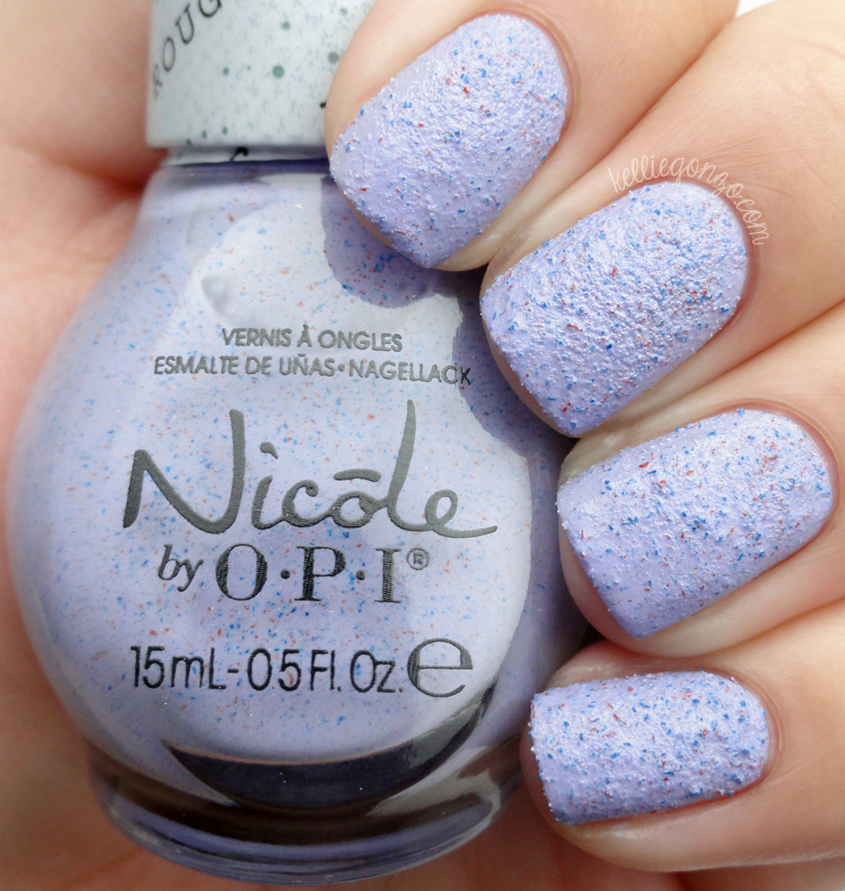 kelliegonzo: Nicole by OPI - I'm Stucco On You