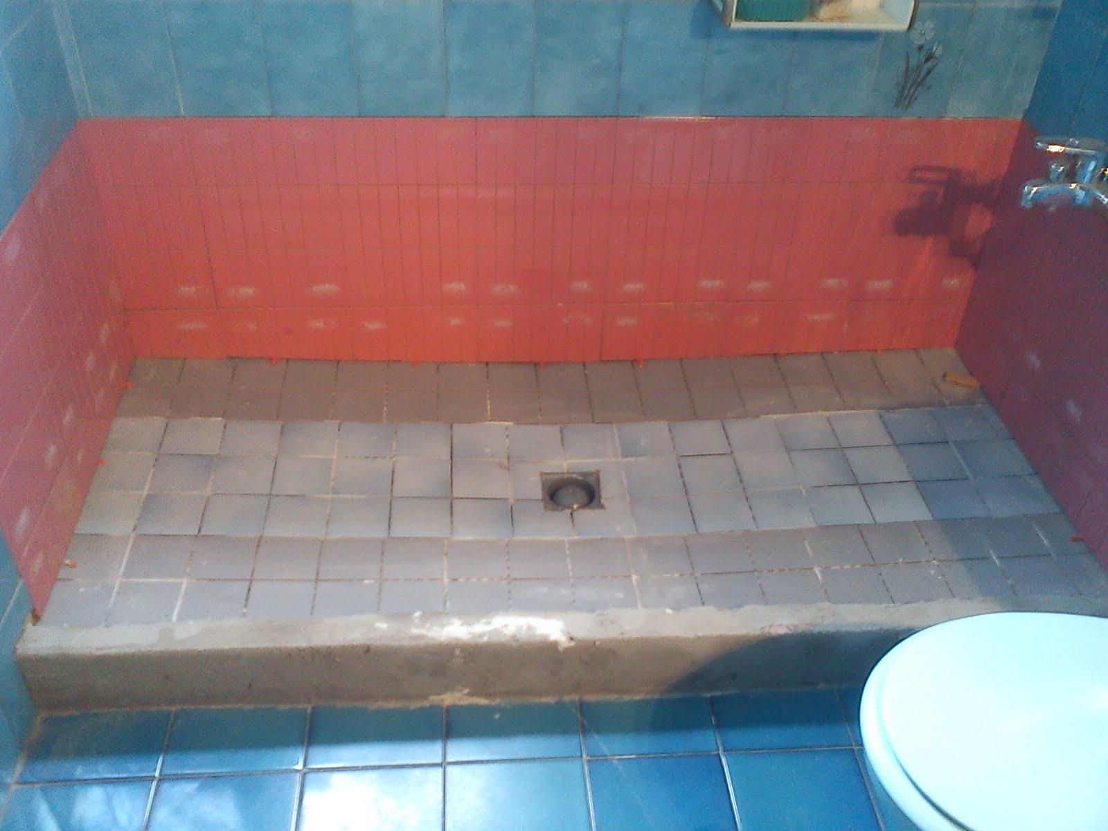 Reforma de ba era a plato de ducha de obra fotos 5 - Suelos de ducha antideslizantes ...