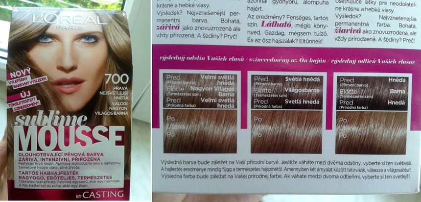 vymývací barva na vlasy