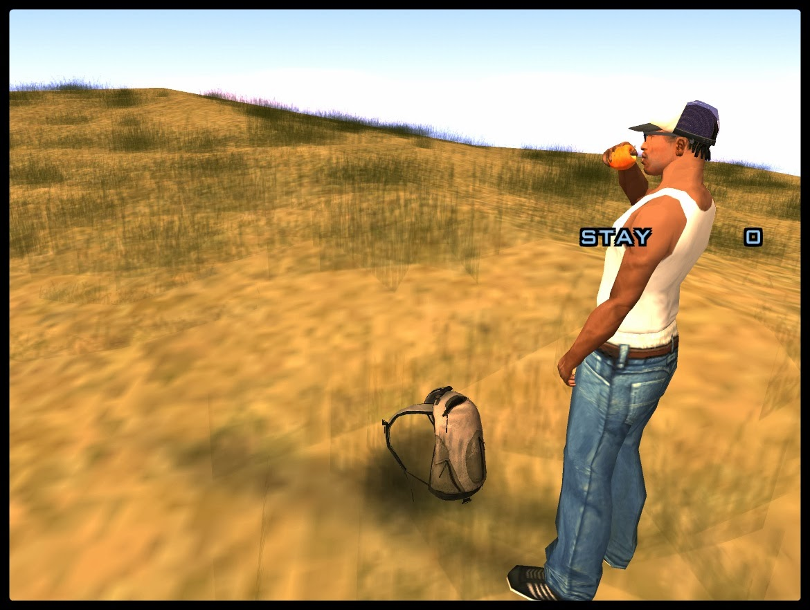 GTA SA - Backpack Mod v2