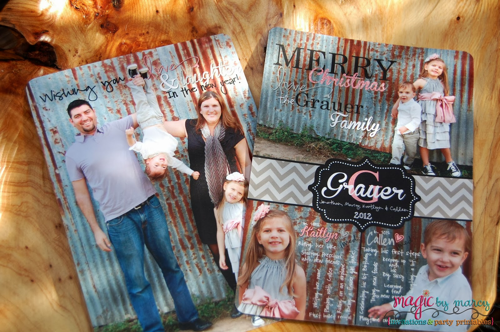 Their Paper And Finishing Touches Truly Make Your Christmas Cards Sparkle.  We Chose The Pearl Finish, It Was A Great Subtle Shimmer That Really Made  Our ...