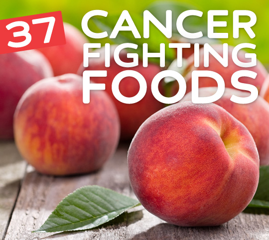 37 Cancer Fighting Foods & Drinks