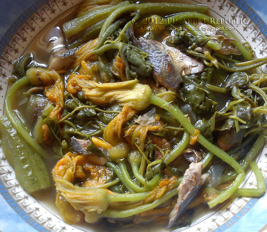 Dinengdeng/ Inabraw (Mixed Vegetables Simmered in Fermented Fish ...