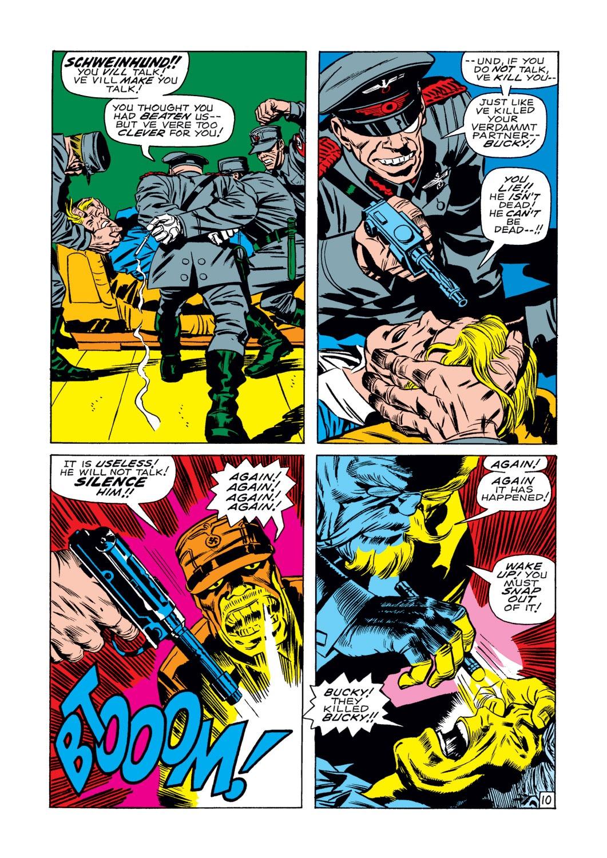Captain America (1968) Issue #107 #21 - English 11