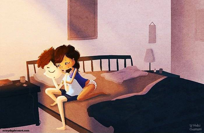 8 Amazing Artworks That Illustrate True Love - Comfortably Uncomfortable