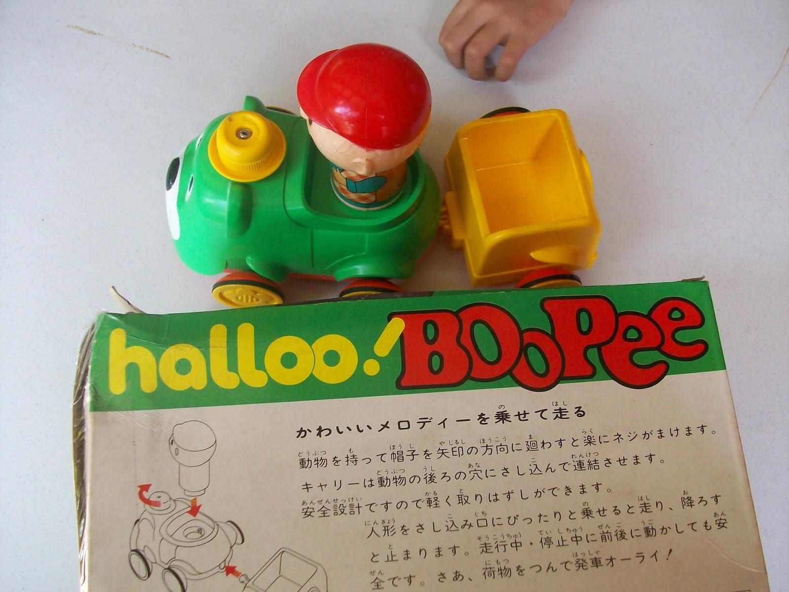 Untuk bahannya sangat berkualitas pas buat bayi anda atau mungkin dikoleksi mainan ini era80an minat hub saya 0812 96