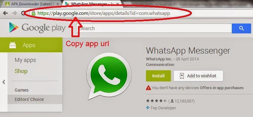 copy+google+play+app+url