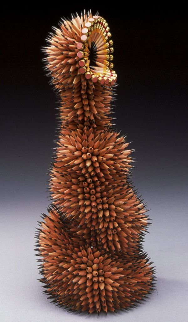Colored Pencil Sculptures by Jennifer Maestre 5
