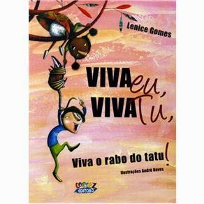 capa do livro Viva Eu, Viva Tu, Viva o Rabo do Tatu!