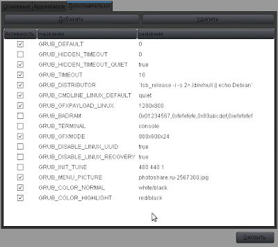 Grub Customizer 05_Grub_customizer_check