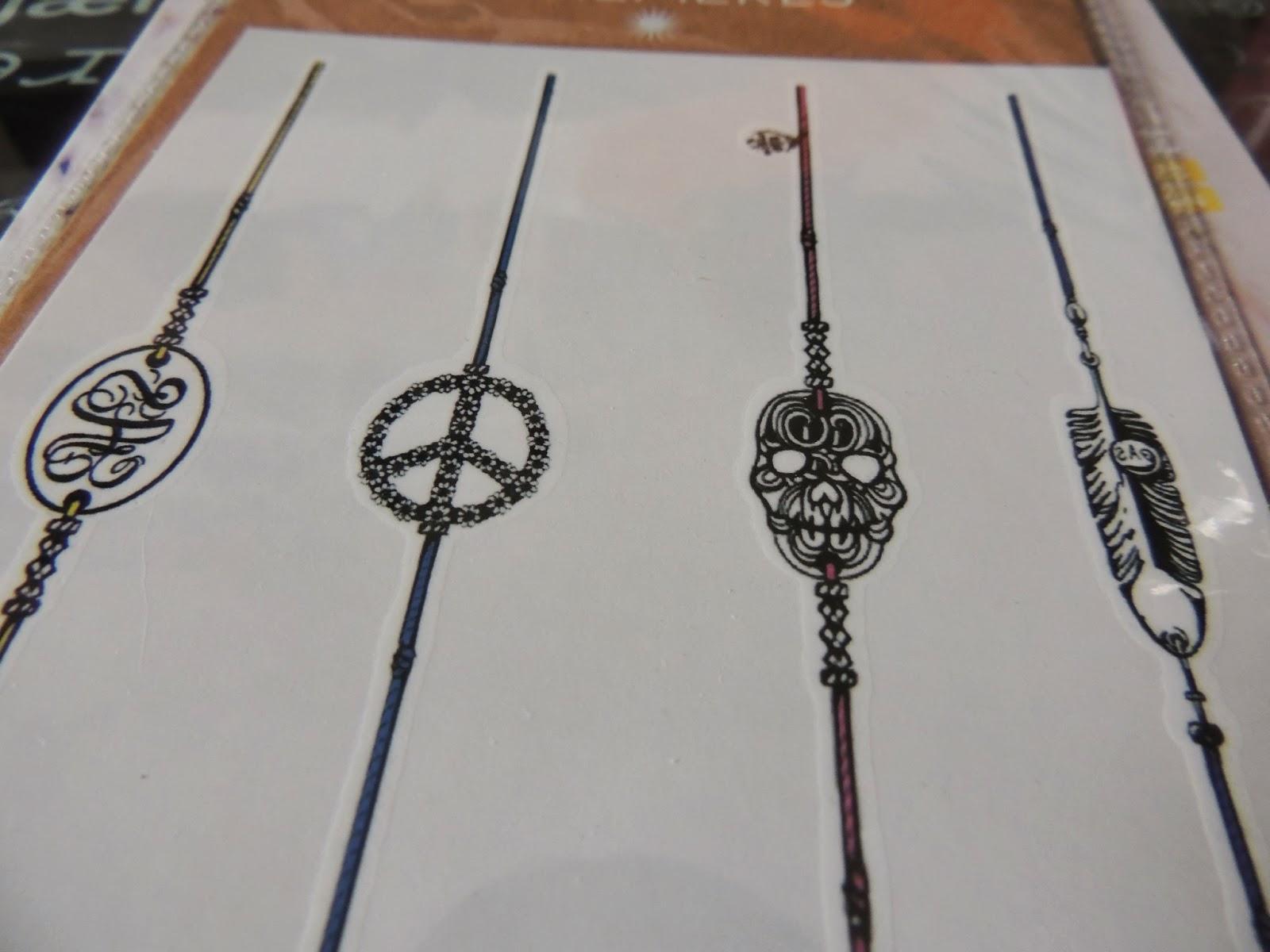 Tatouages de bracelets bagues gourmettes et bijoux - Tatouage Poignet Homme Bracelet