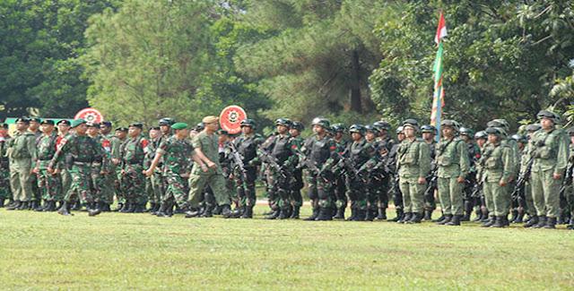 TNI AD dan AD Singapura Latihan Bersama