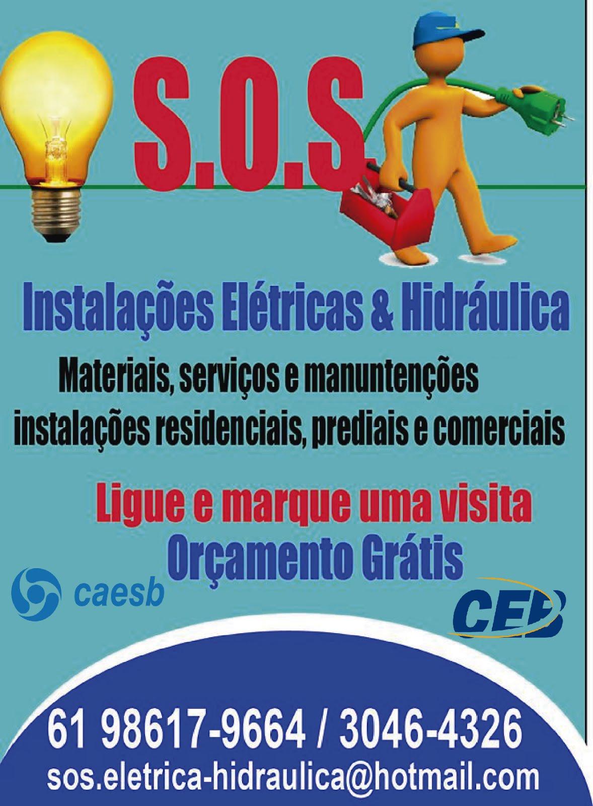 S.O.S ELETRICA E HIDRÁULICA