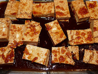 Spicy Baked Grilled Tofu