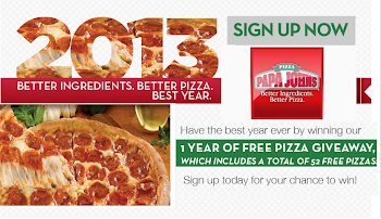 Sign Up Now to Get Free Pizza