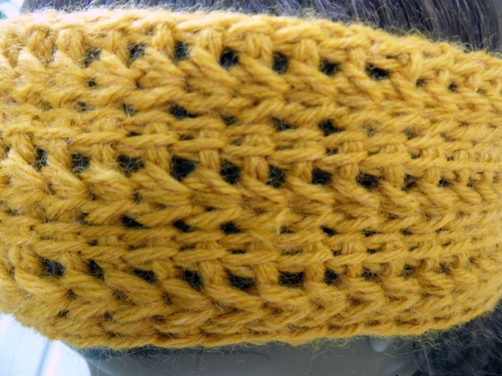 Tunisian Knit Stitch Headband Pattern : Makeda Speaks: Tunisian Crochet Headband Pattern (FREE!)
