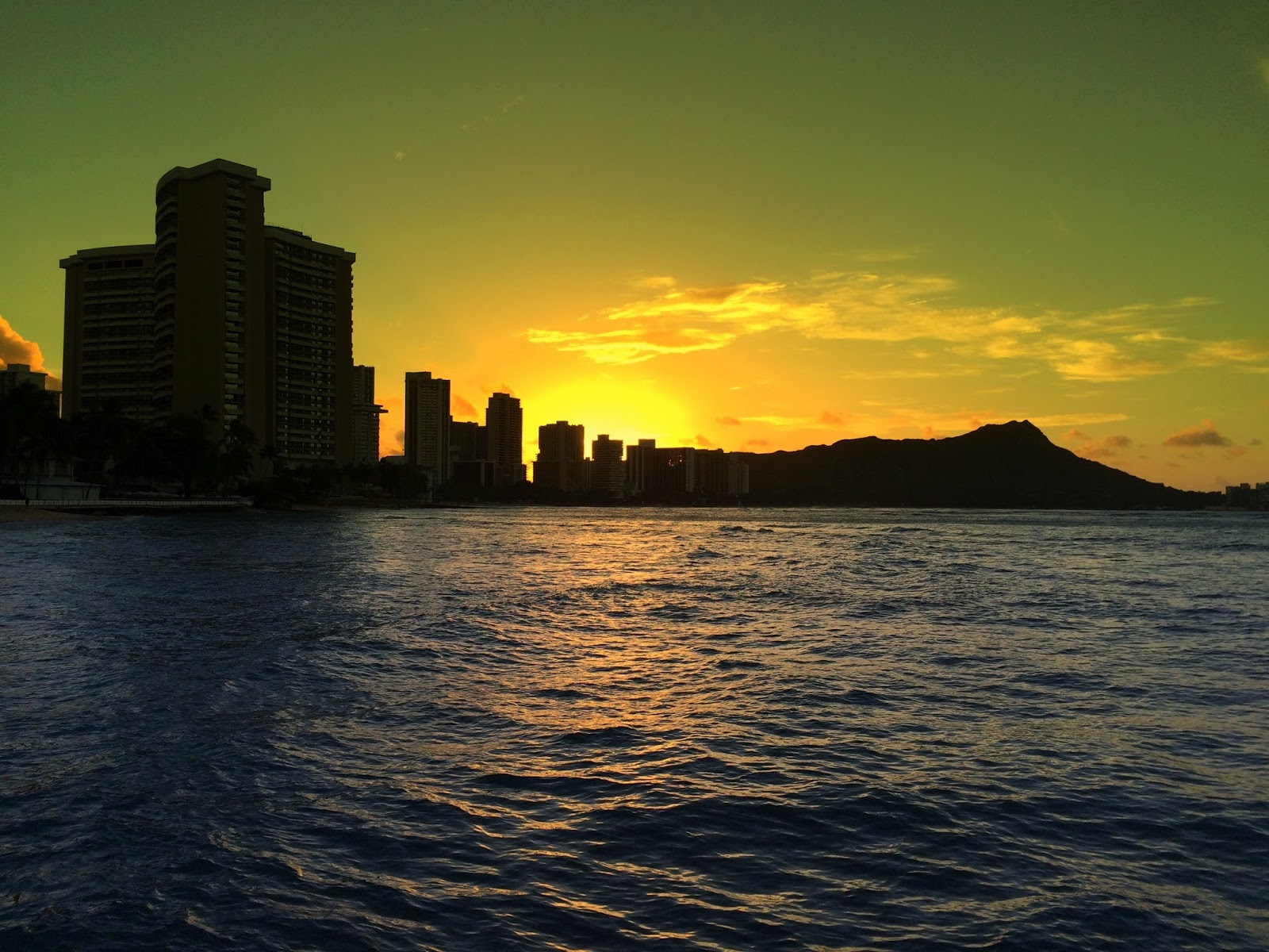 Aloha from Hawaii: Sunrise in Oahu