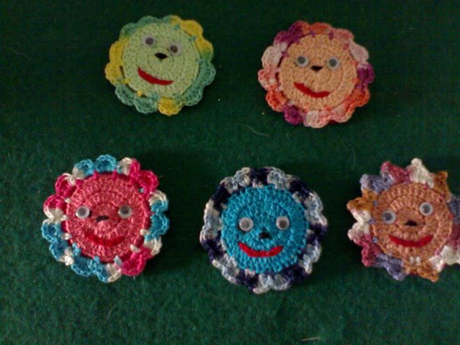 flor coloridas