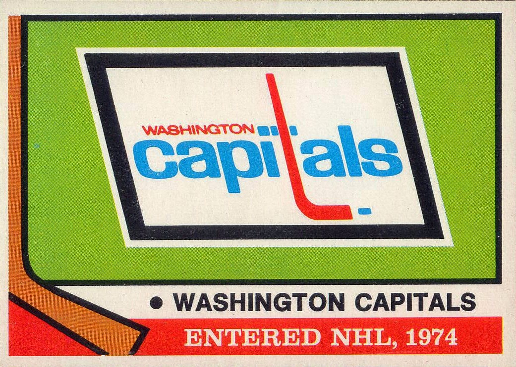washington capitals 1974-75 o-pee-chee
