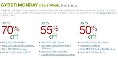 Neuer Cyber Monday bei Amazon.co.uk: Günstige Angebote bis Sonntag