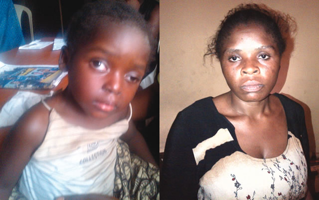 Aunty beats 3 year old into a coma in Lagos.