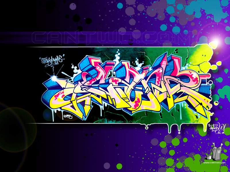 Grafity Tawur Graffiti Background