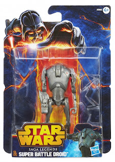 Hasbro Star Wars Saga Legends Super Battle Droid Figure