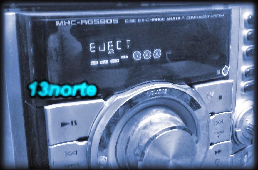 Sony HCD-RG590 con error eject
