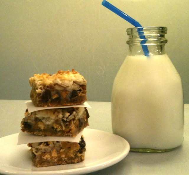 7-Layer Bars- perfect with cold milk