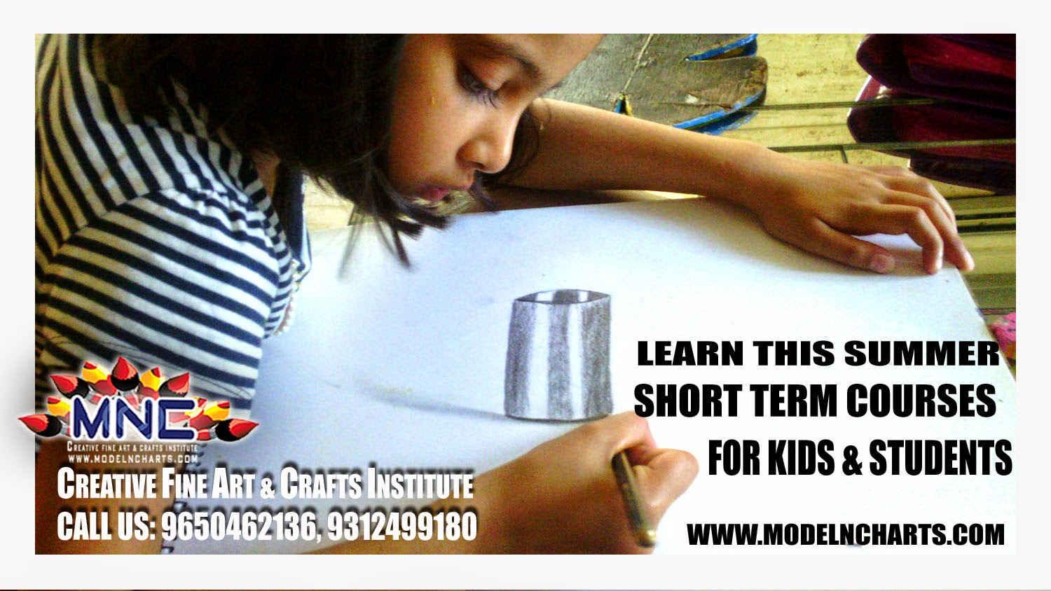 SUMMER ART & CRAFTS HOME TUITION, HOME TUTOR, HOME CLASSES, FINE ART INSTITUTE BEST IN DELHI/NCR KIDS COURSES - DRAWING, CLAY MODELING, PENCIL SKETCHING, CREATIVE ART CRAFT WORKSHOP IN DELHI GURGAON NCR