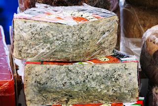 Pieza de queso de Cabrales
