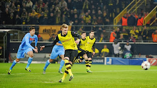 Hasil dan Video Gol Borussia Dortmund vs Napoli 3 : 1 27 November 2013