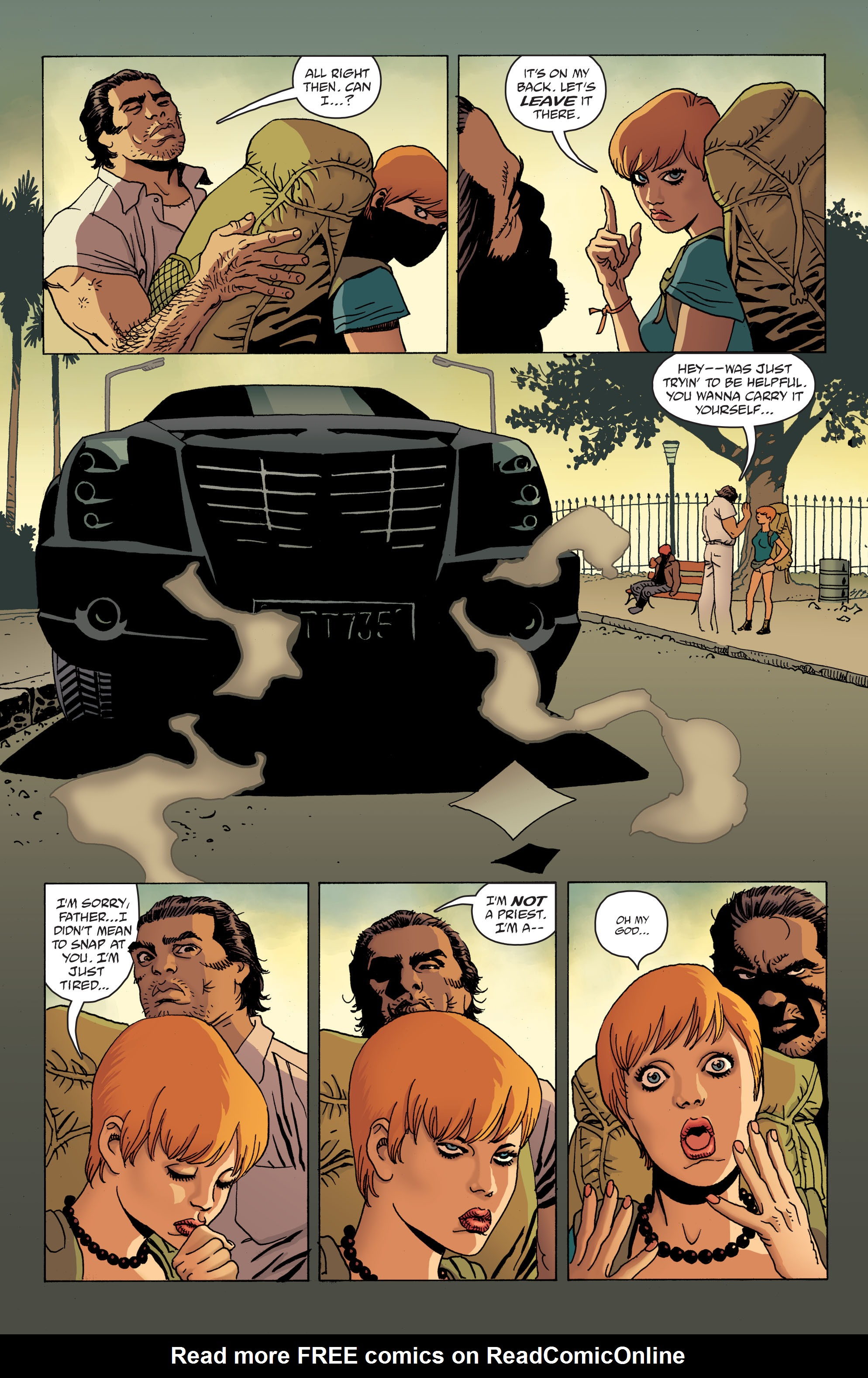 100 Bullets: Brother Lono Full Page 31