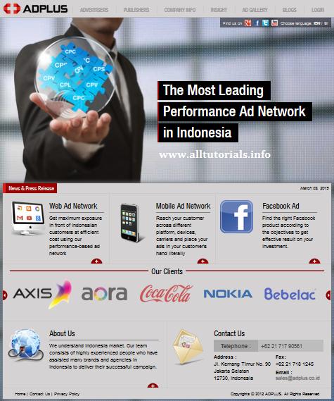 Adplus.co.id Homepage