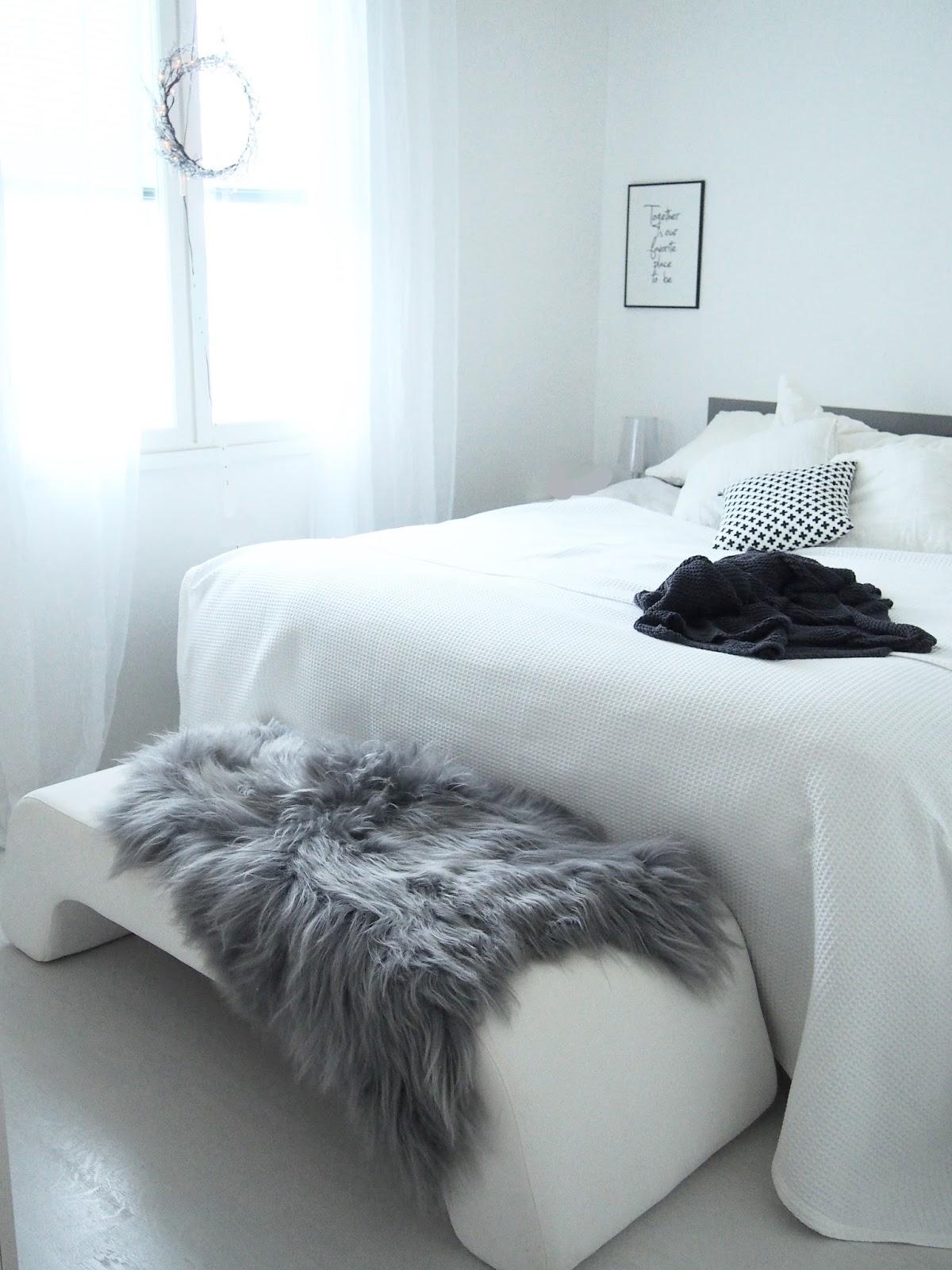 lampaantalja makuuhuoneessa
