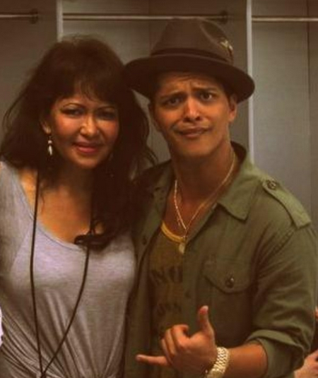 Bruno mars mother quot bernadette hernandez quot 55 died on saturday in