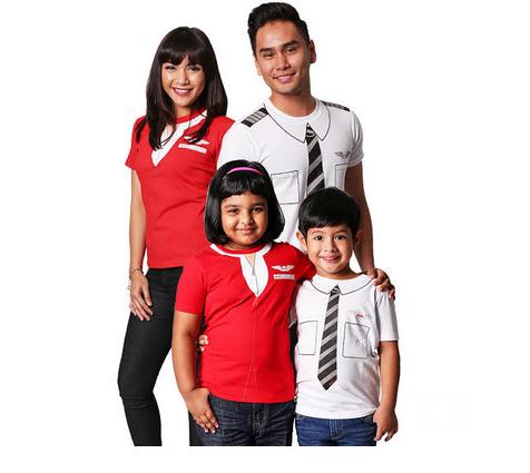 AirAsia memperkenalkan T shirts limited edition bagi mengumpul dana untuk MAKNA