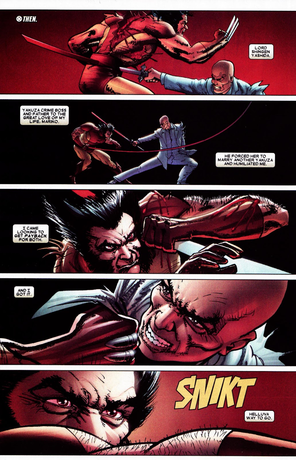 Read online Wolverine (2003) comic -  Issue #61 - 3