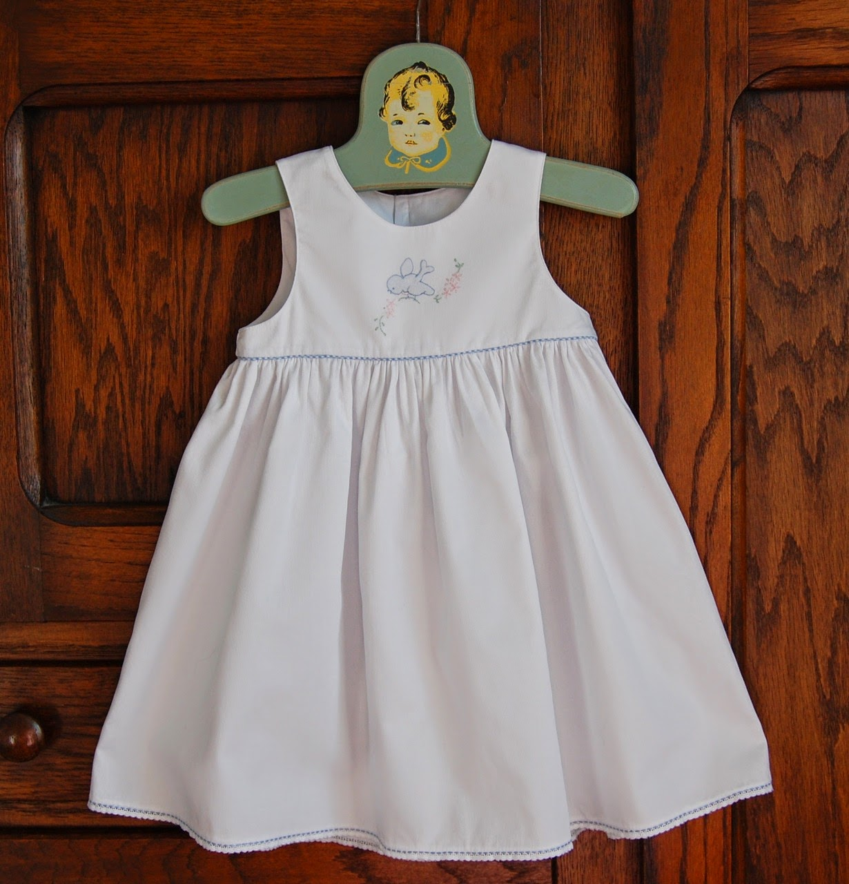 The Old Fashioned Baby Sewing Room New Year Garment