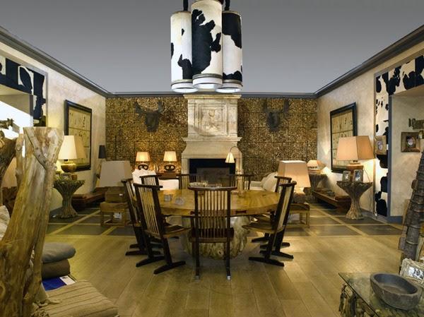 Cow Skin Wallpaper Interior home Design