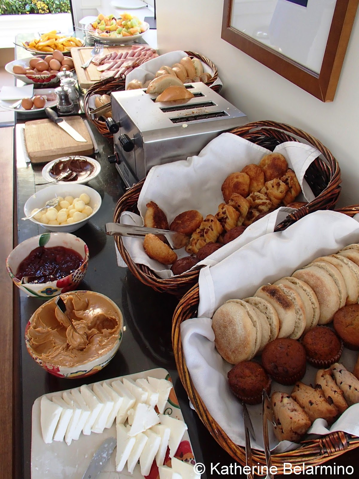 Pavilion Hotel Breakfast Catalina Island California