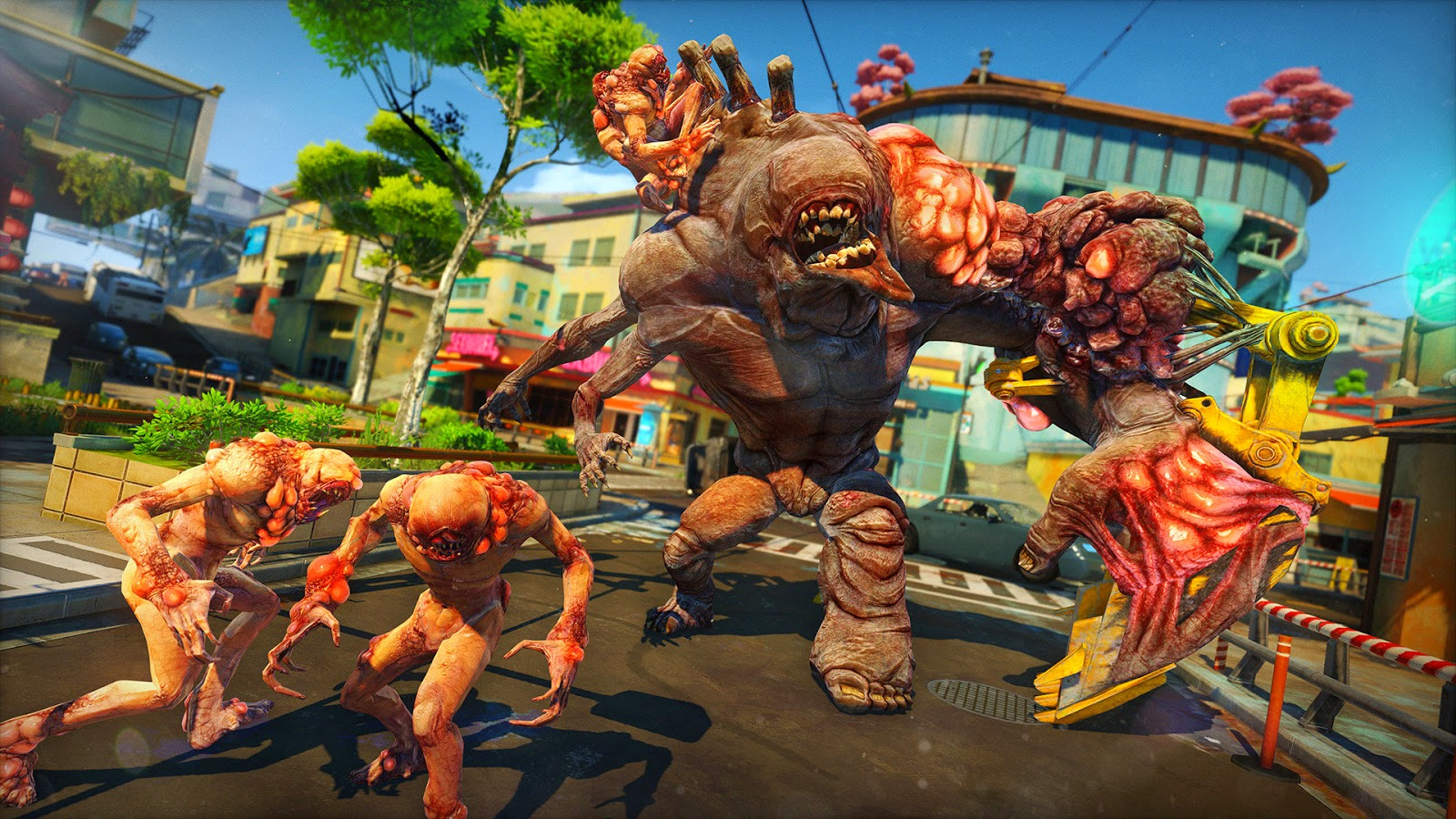 sunset overdrive absceso